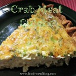 Crab Meat Quiche