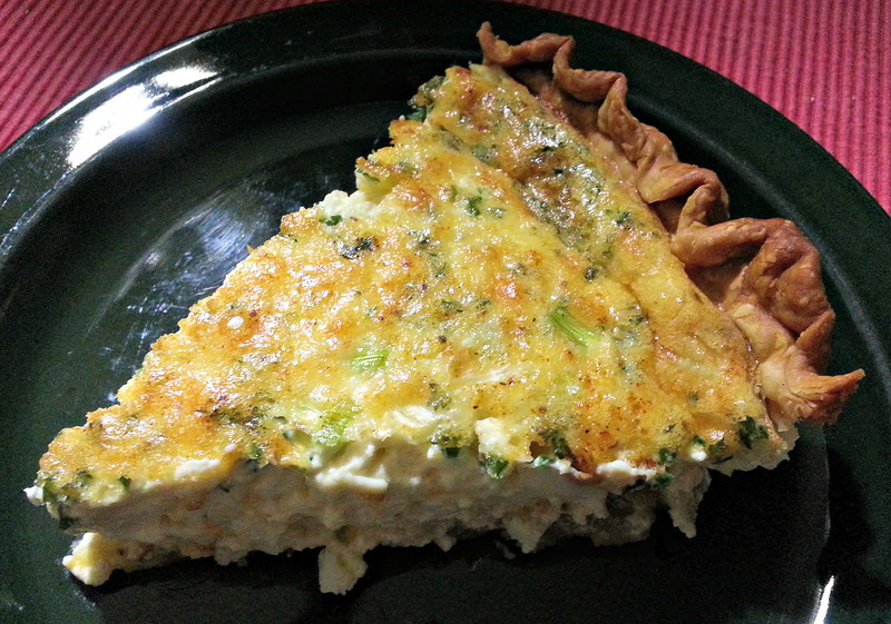 Crabmeat Quiche © www.food-crafting.com