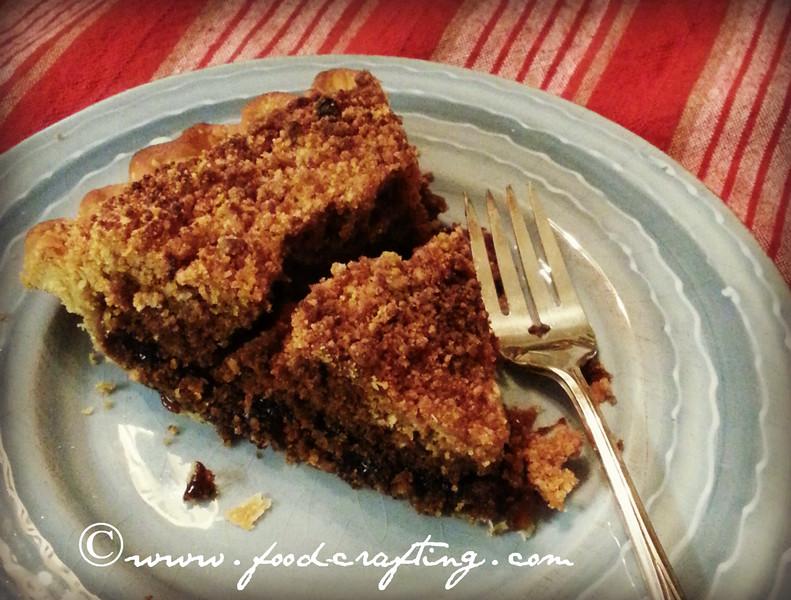 Pennsylvania Dutch Shoofly Pie Slice