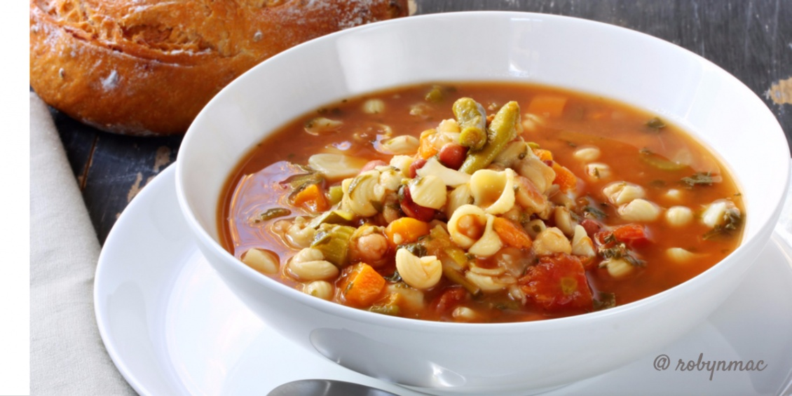 homemade-italian-minestrone-soup