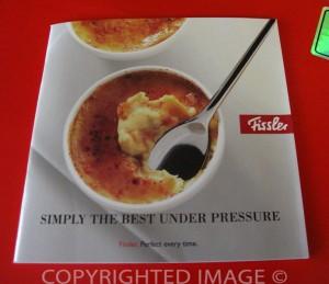 Fissler Pressure Cooker Instruction Booklet