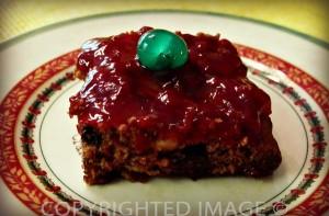 christmas holiday dinnerware sets - brownie fruit bar
