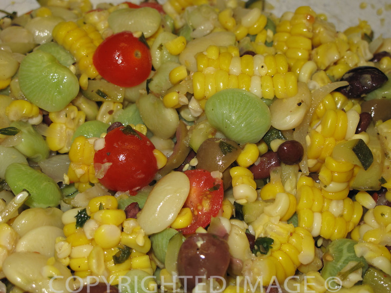 Zucchini Corn Salad Recipe