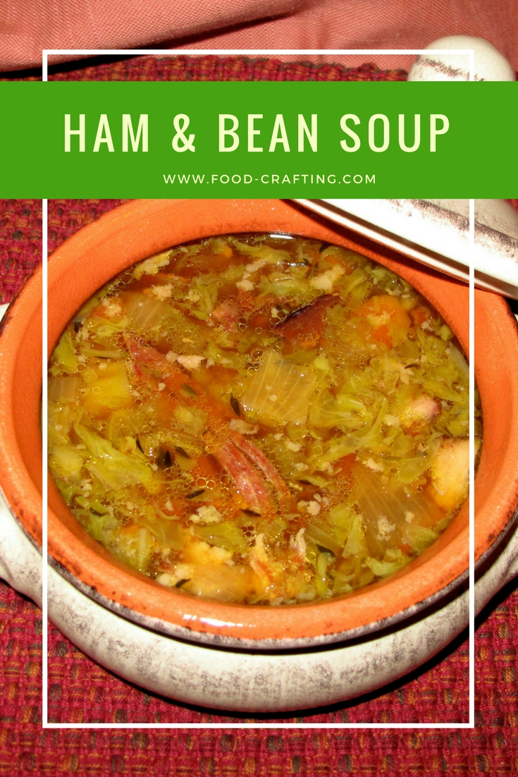 best ham bone bean soup
