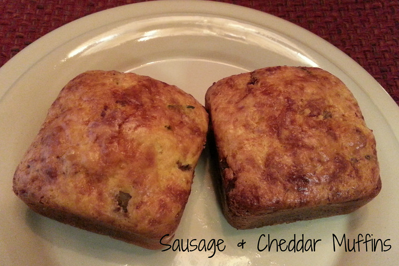 Sausage and Cheddar Muffins
