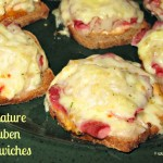 Miniature Reuben Sandwiches Make Perfect Appetizers