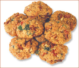 Candied Fruit Oatmeal Cookies