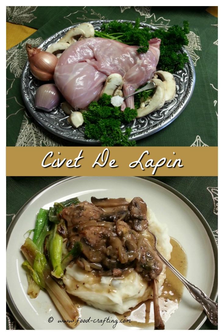 French rabbit stew