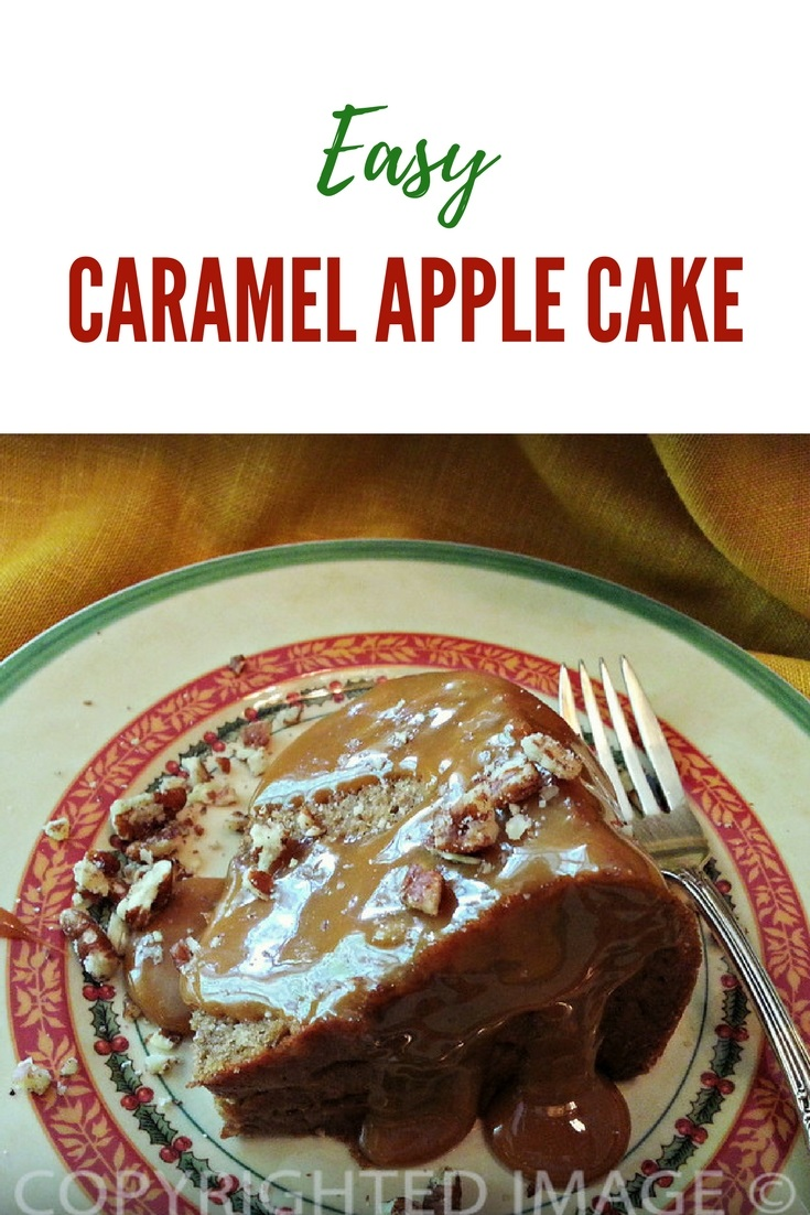 Easy caramel apple cake dessert recipes - One of us loves spice cake and the other loves caramel so it was a piece of cake to select the first recipe - Apple Caramel Cupcakes.