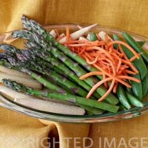 Frugal Teriyaki Pork Dinner - Vegetables