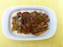 Frugal Teriyaki Pork Dinner - Dinner is Done