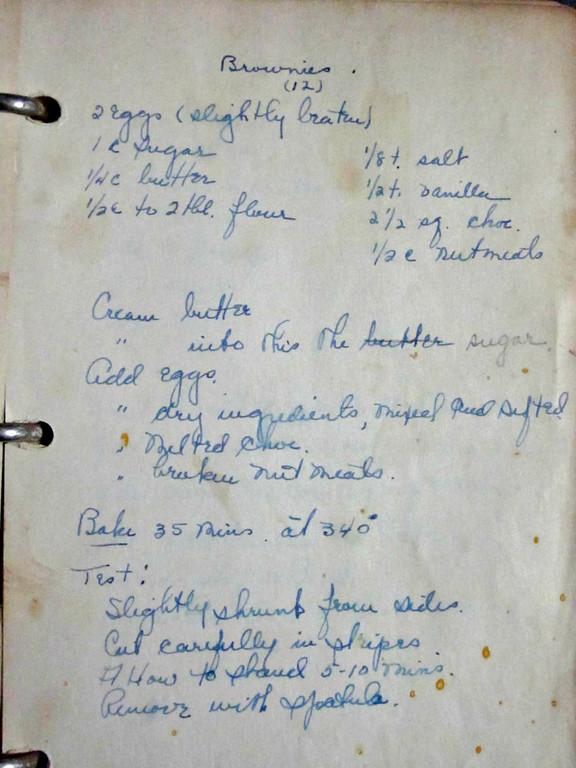 Margaret's Brownie Recipe