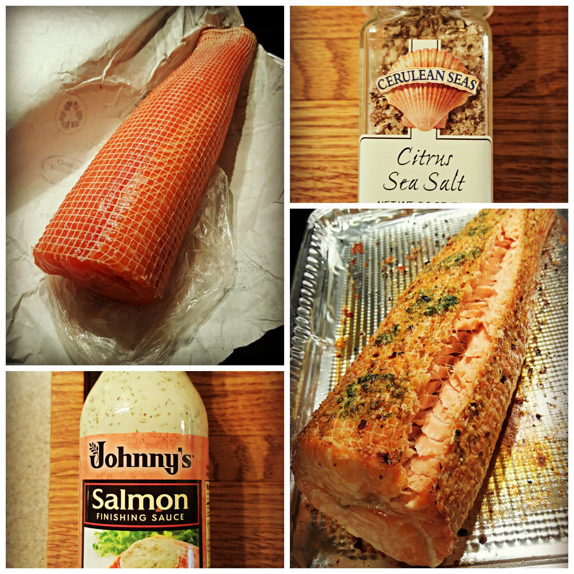Salmon Roast With Lemon Dill Sauce