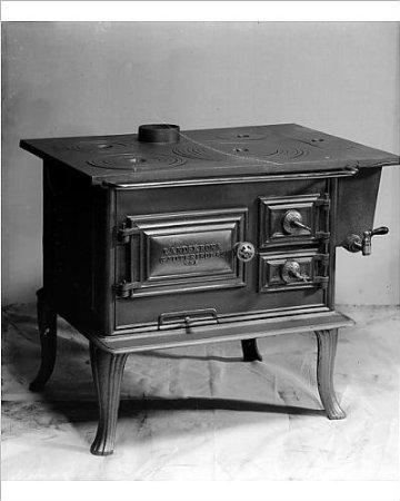 Vintage Wood Cooking Stove