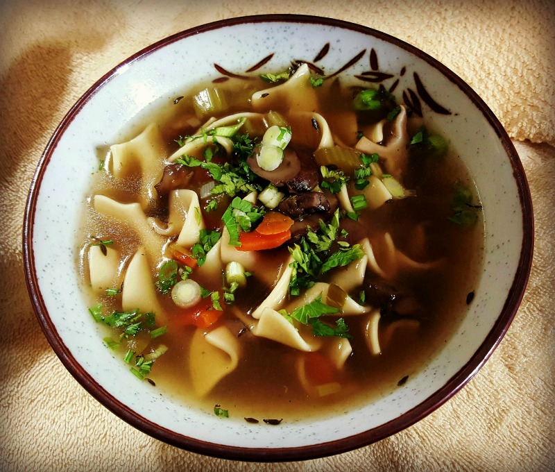 Easy Homemade Mushroom Soup