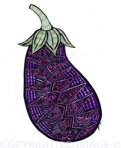 eggpplant by Jacqadoodle on Etsy