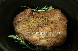 Cooking perfect chuck roast