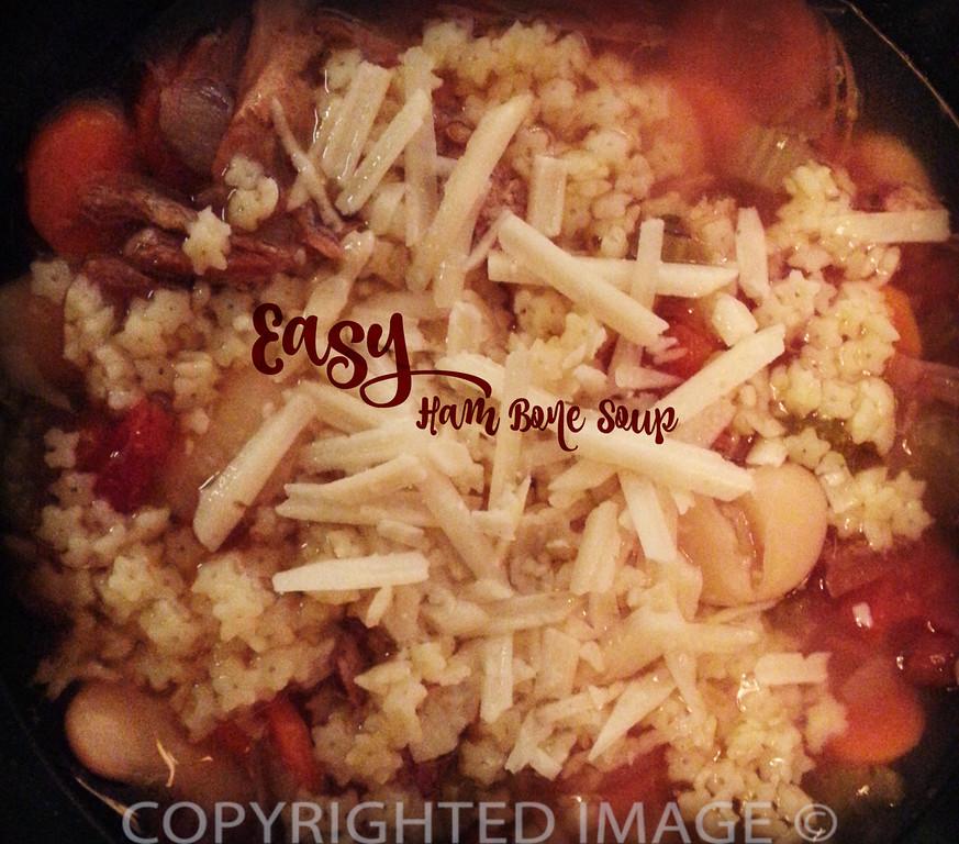 Easy Ham Bone Soup