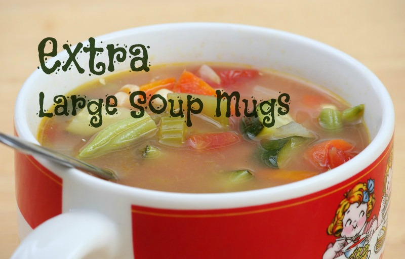 extra large soup mugs