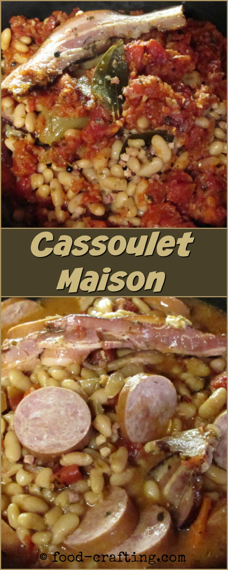 Recipe for a classic French Cassoulet Maison is the perfect one-pot meal for a winter weekend.