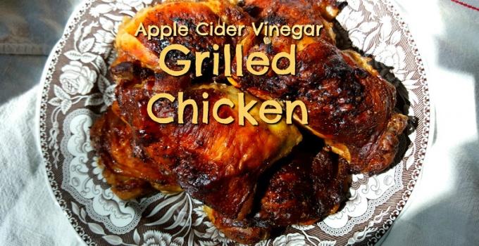 apple cider vinegar marinade