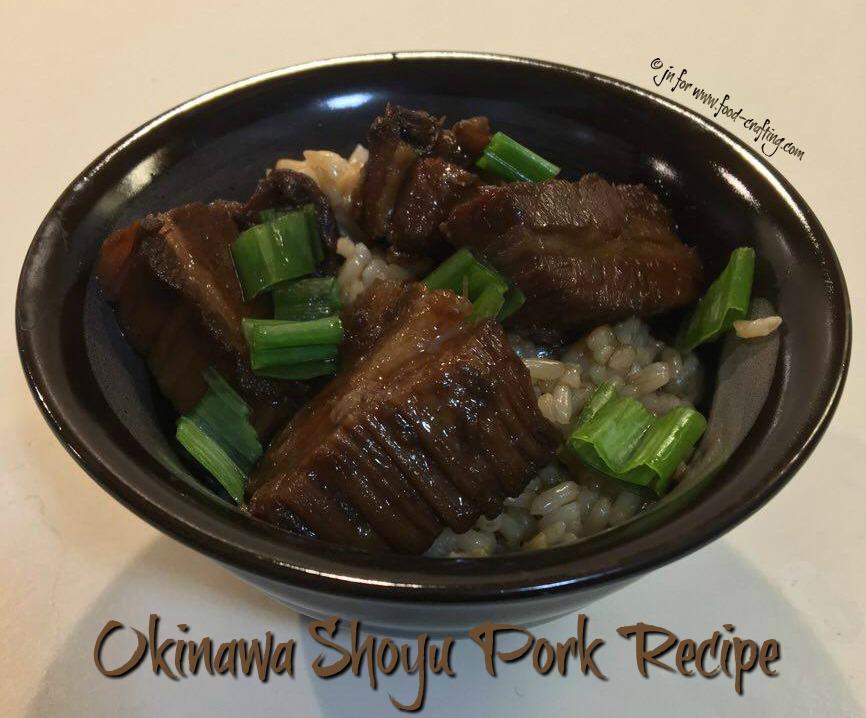 Okinawa Shoyu Pork Recipe | food-crafting.com