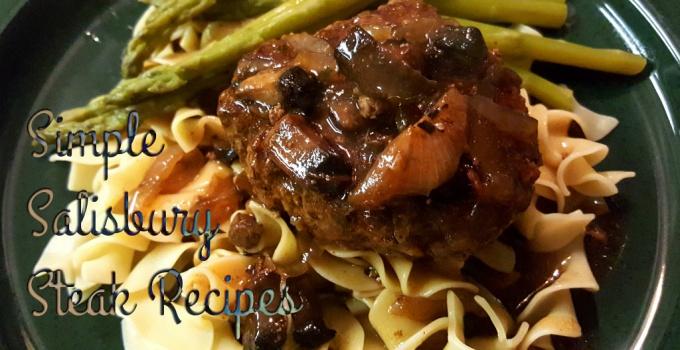 simple salisbury steak recipes