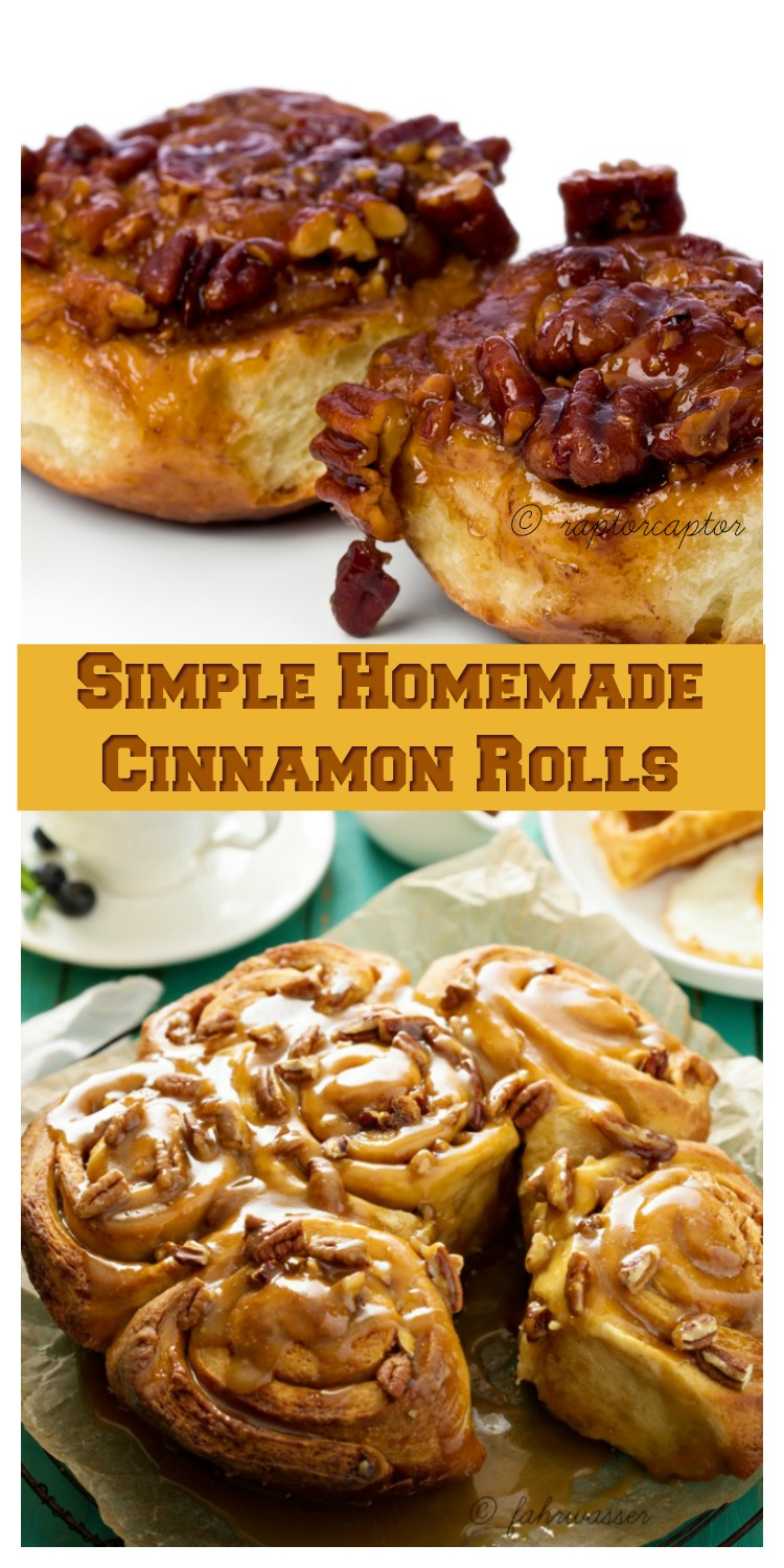 A huge batch of simple homemade cinnamon rolls is a traditional part of our Thanksgiving Day breakfast.