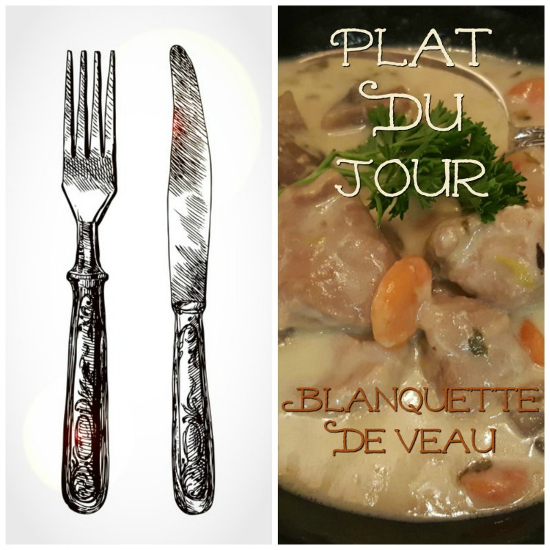 Blanquette De Veau A L'Ancienne - Blanquette de Veau A L'Ancienne is an old fashioned veal ragout served in a rich cream sauce. An easy recipe that is perfect for a slow cooker meal.