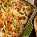 Scalloped Potatoes With Bacon & Onions