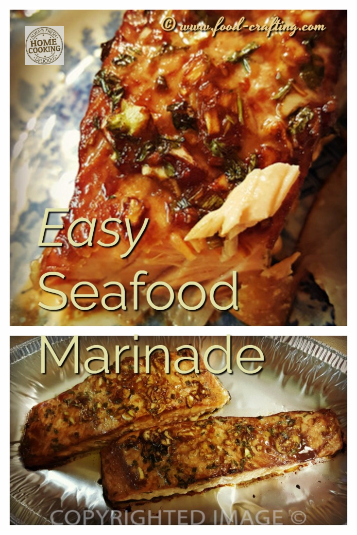 seafood marinades salmon recipes | Our easy seafood marinade @ food-crafting.com