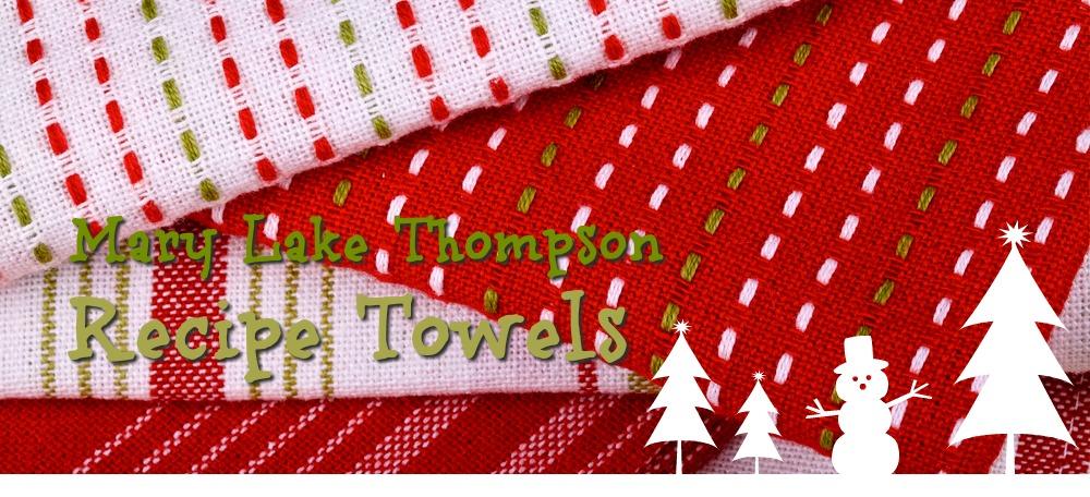 Mary Lake Thompson Recipe Towels