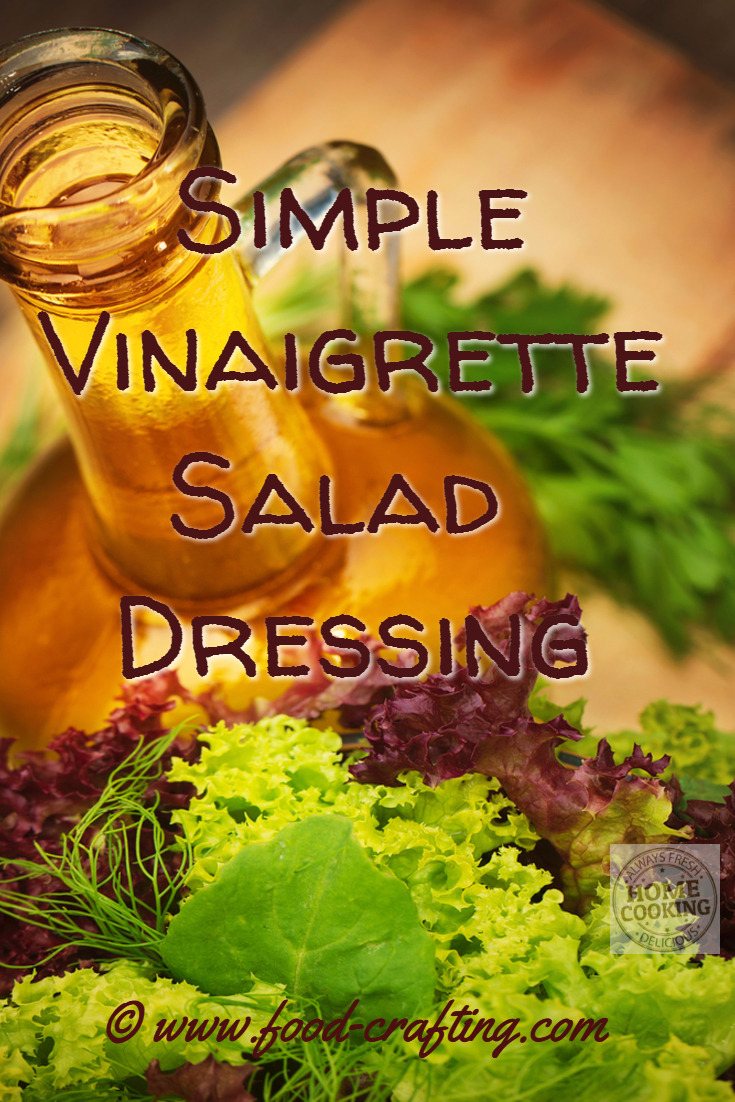 Simple-vinaigrette-salad-dressing