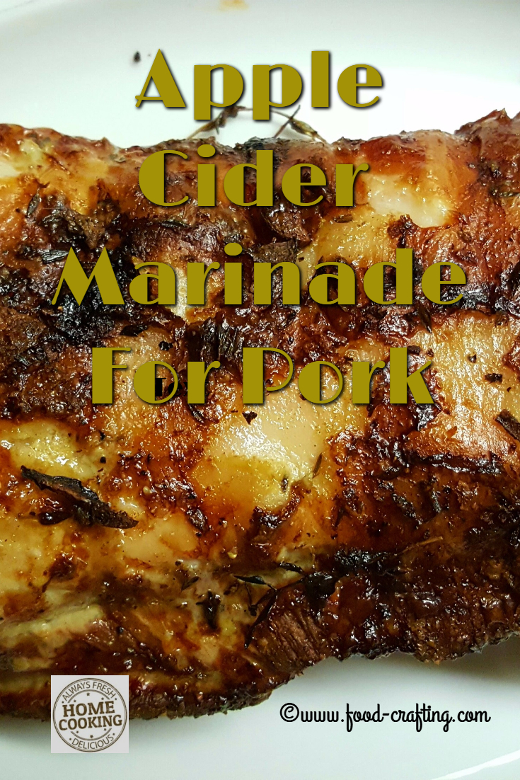 Apple Cider Vinegar Marinades | food-crafting.com