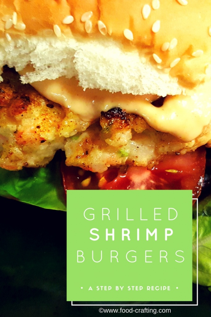 Grille shrimp burgers recipe