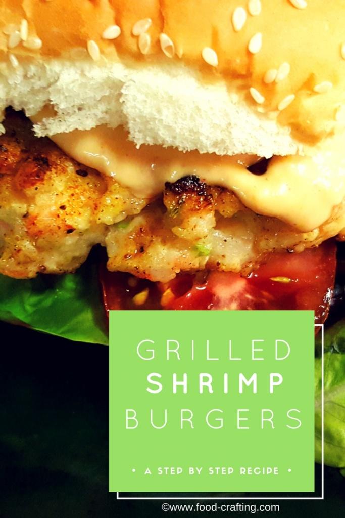Grille shrimp burgers recipe
