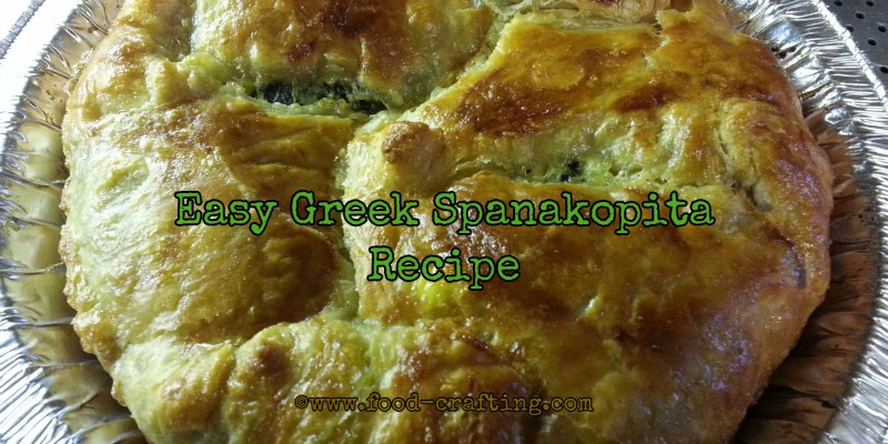 Easy Greek Spanakopita Recipe
