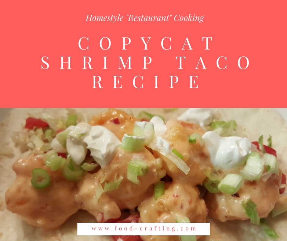 band bang shrimp taco copycat recipe