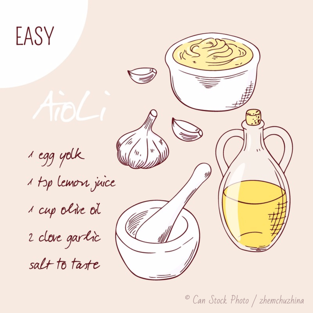 Aioli Mayonnaise Recipe