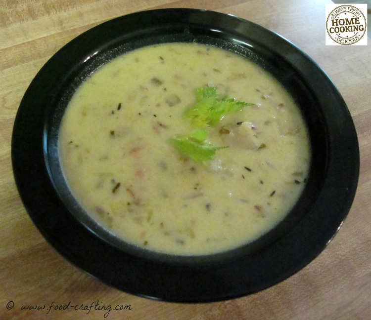 Bowl of New England Clam Chowder