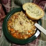 italian-pasta-e-fagioli-soup-recipe-pic | © food-crafting.com