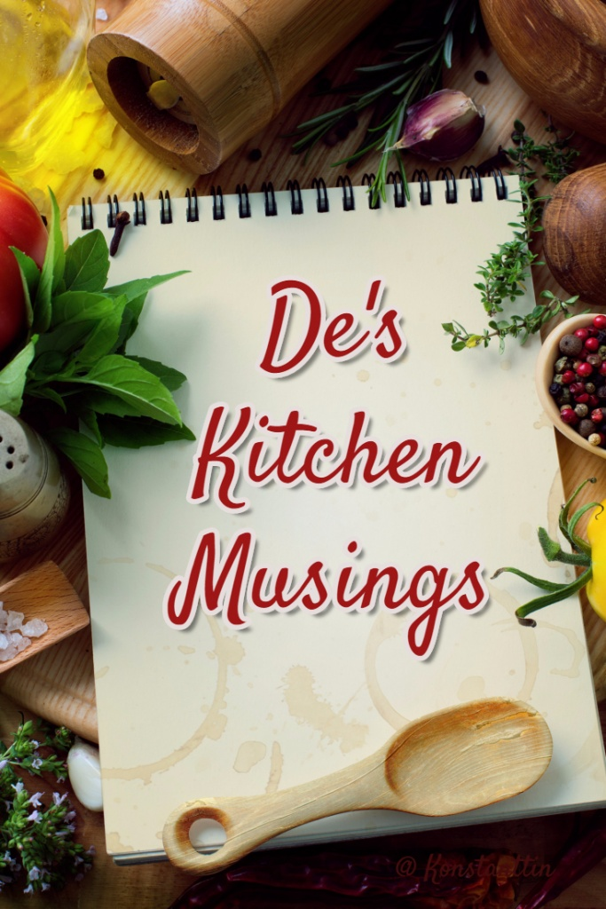 Kitchen musings - No recipes just info about kitchen appliances, unique source for favorite ingredients, where to locate the elusive replacement parts.