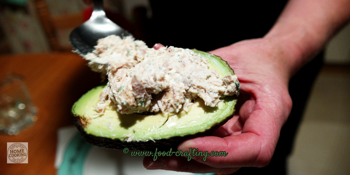 tuna-salad-stuffed-avocado