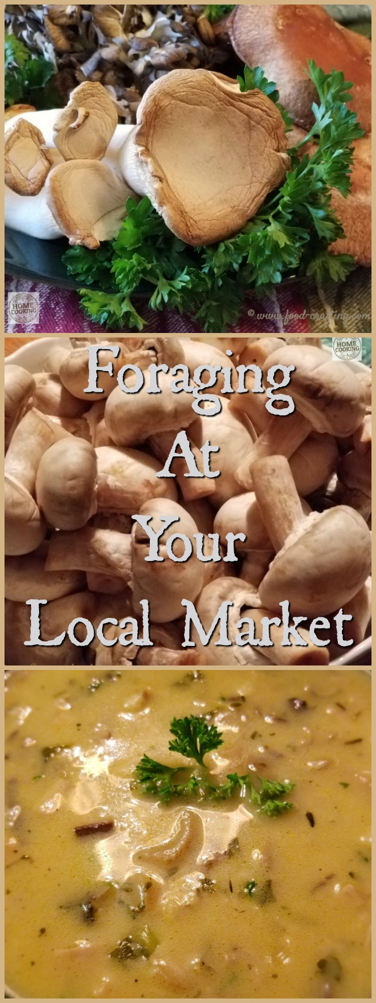 Source local ingredients for the best mushroom bisque. Make your next trip to Wegmans© a culinary adventure. Forage in your local market for great mushrooms.