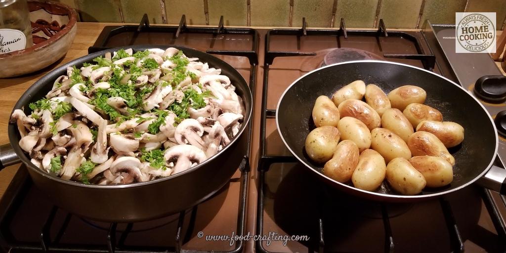 cooking-champignons-de-paris | food-crafting.com