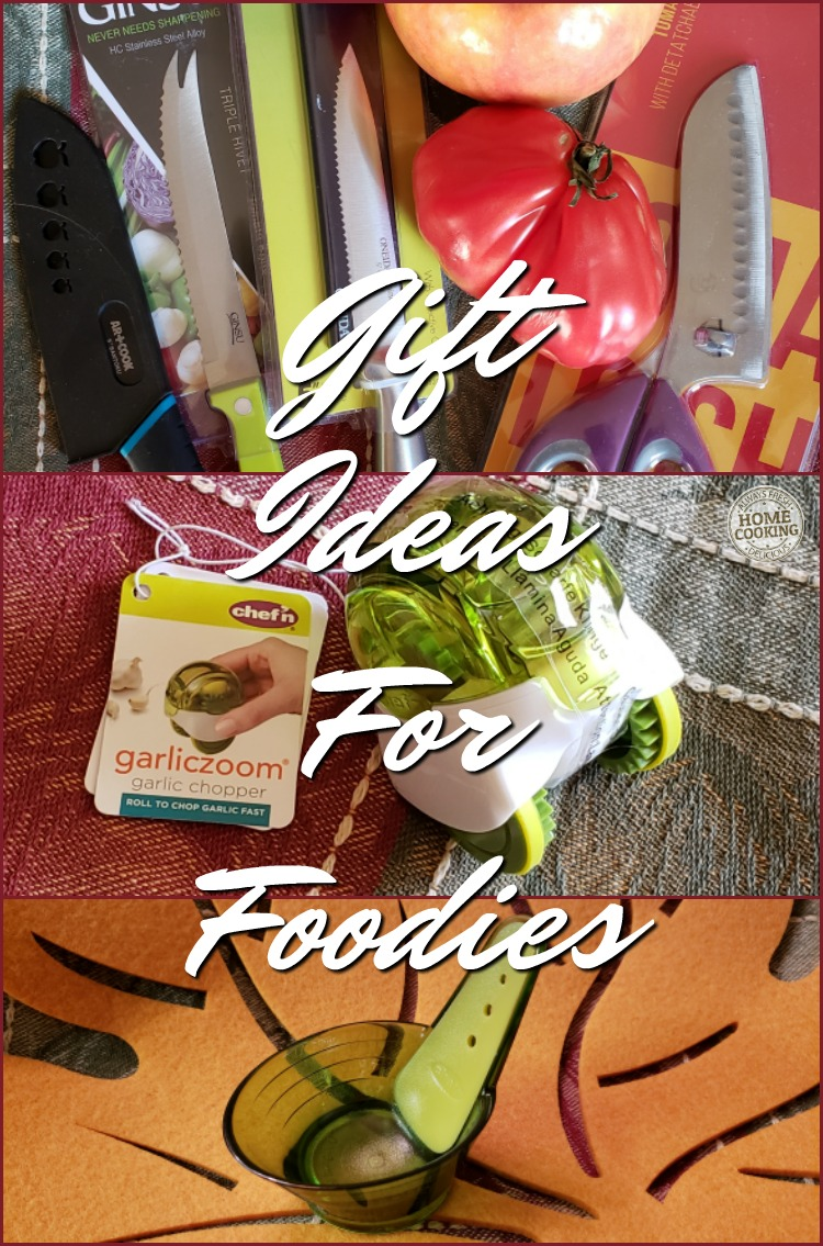 last minute gift ideas for foodies and home chefs