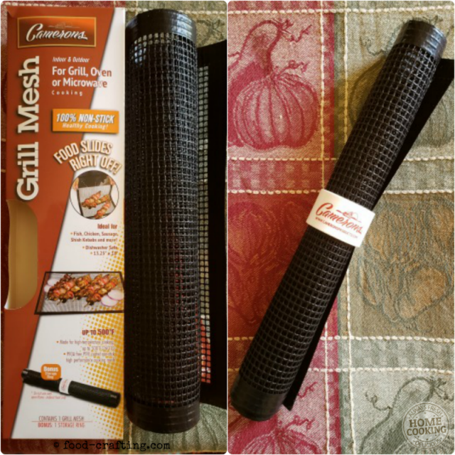 Best Stocking Stuffer Gift Ideas For Foodies - Here is my list of supermarket finds that won't break the bank! - Cameron's Grill Mesh is just one of the best stocking stuffer gift ideas for foodies!