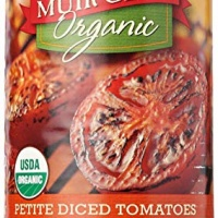 Muir Glen Tomato Fire Roasted Diced Petite, 14.5 oz