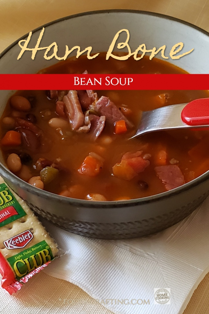 Make the perfect meal in a bowl soup! I call it Ham Bone Bean Soup. All about the ham bone, soup mix nutrition facts, the great taste and recipe tweaks.