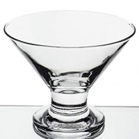 6-Piece Mini Martini Footed Dessert Glass Set, 5.5 Ounce